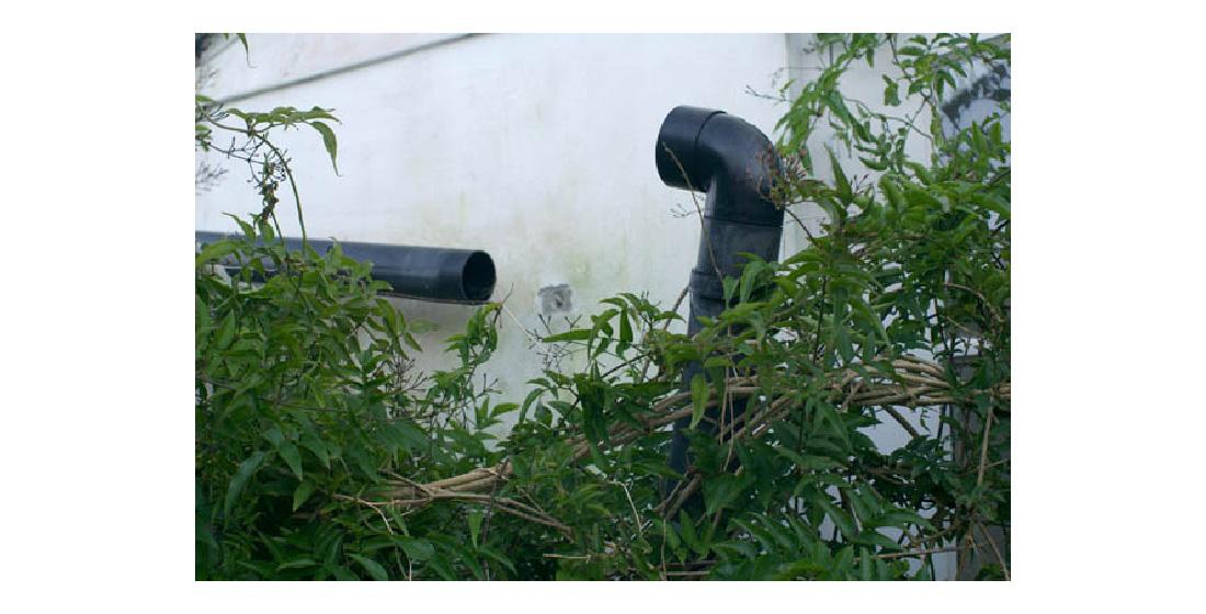 17 drainpipes